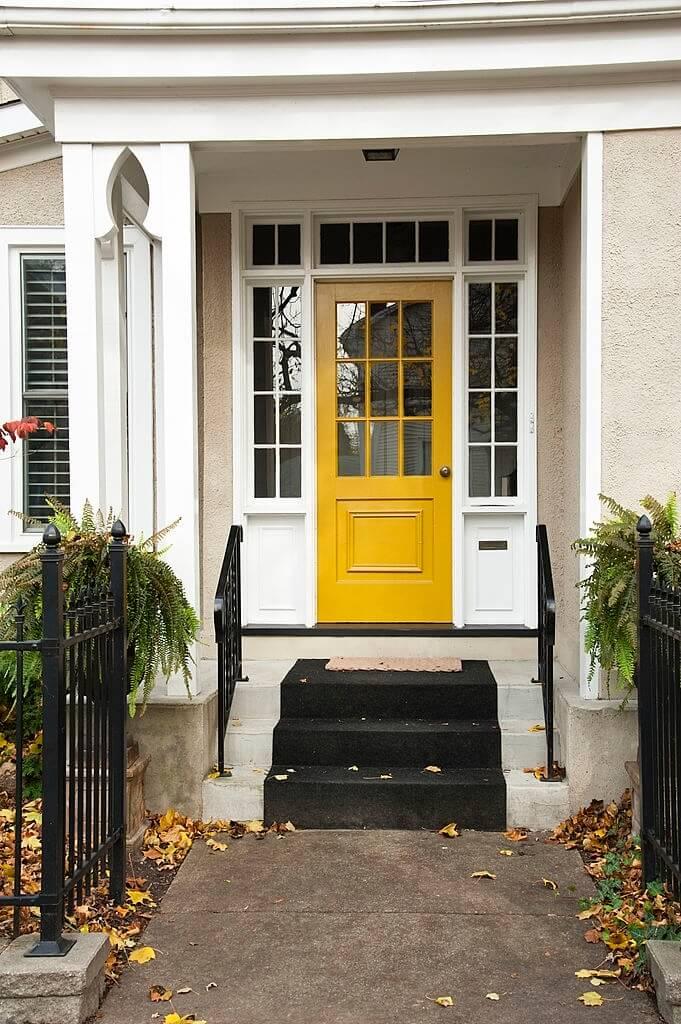 1. Bright door