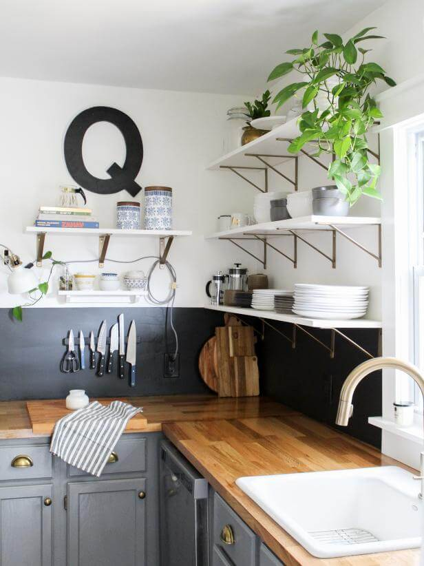 1. Replace with shelfs