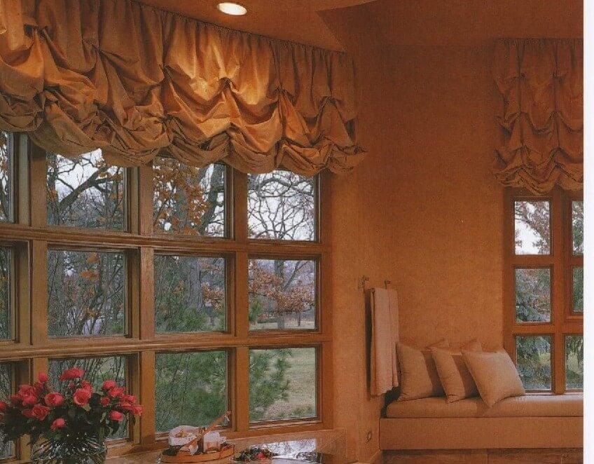 10. Austrian curtains