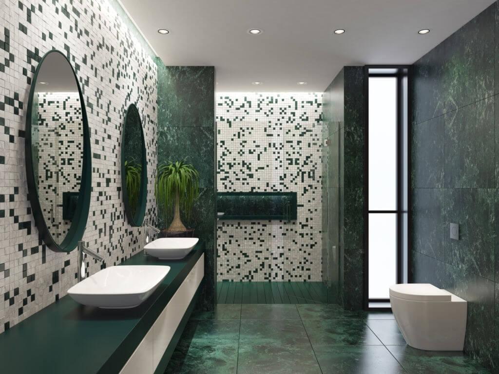2. Mosaic decor