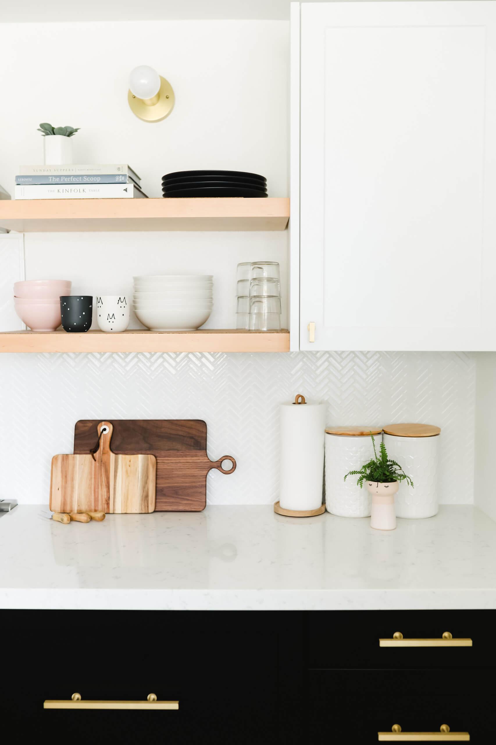 3. Multifunctional shelves