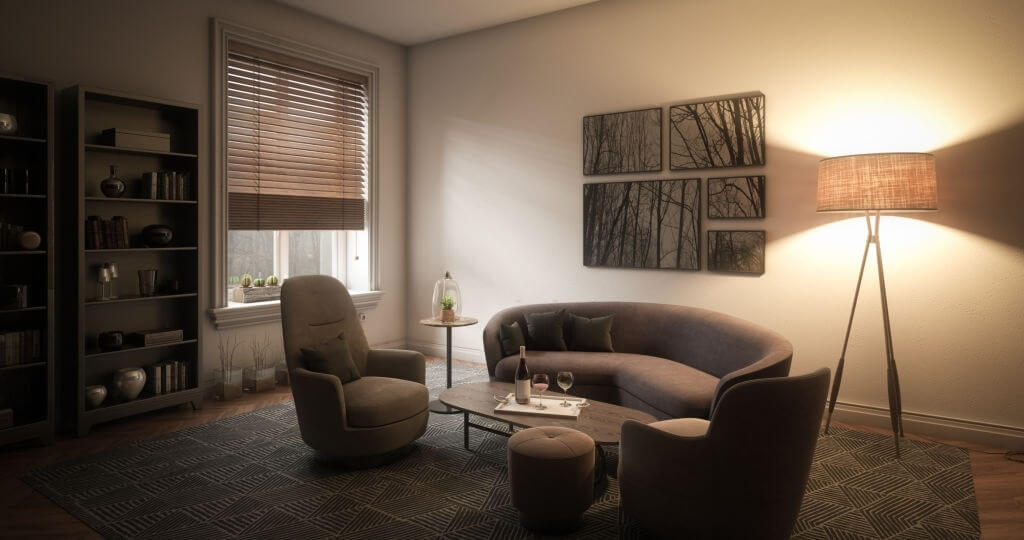 5. Blinds for small windows