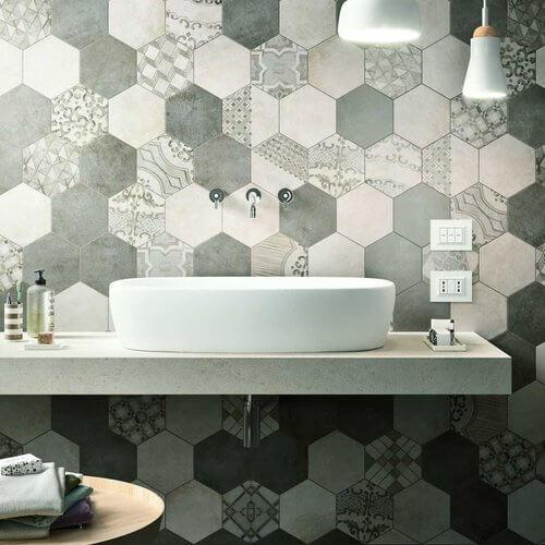 5. Honeycomb tile