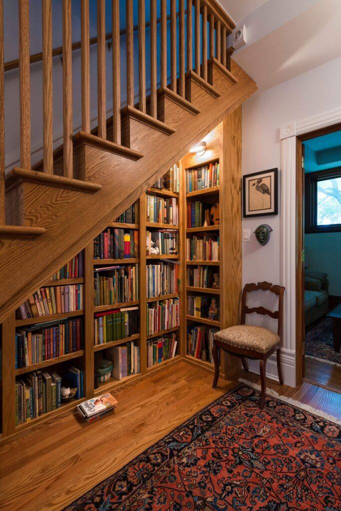 5. With shelves and racks