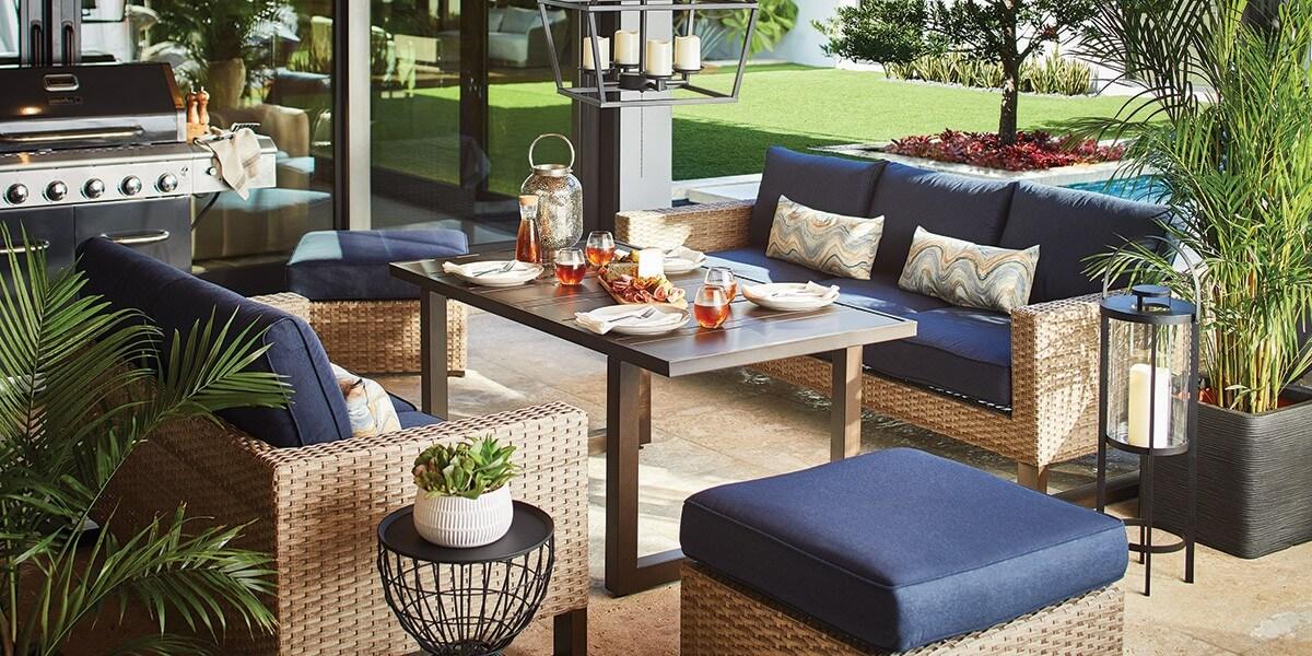6. Bright furniture