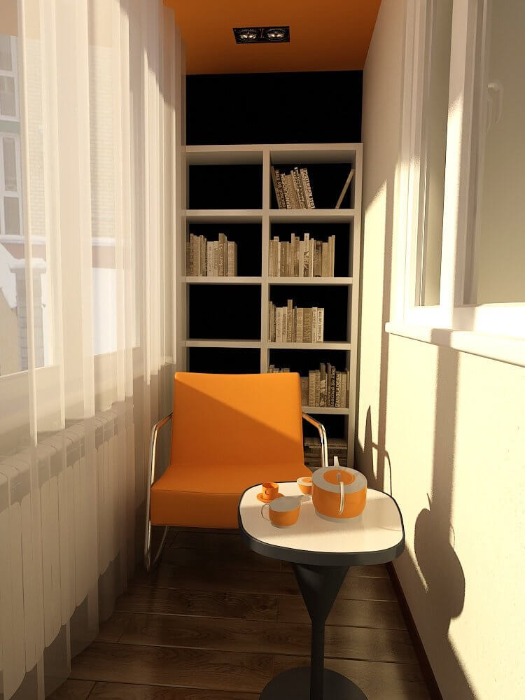 6. Outdoor library