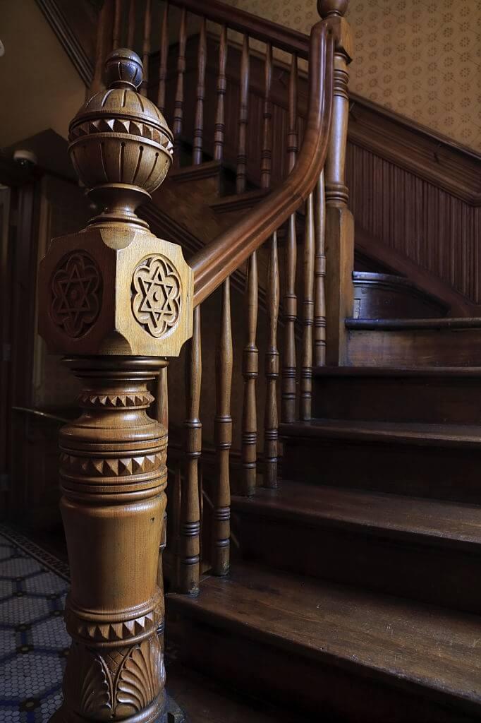 7. Wood carved