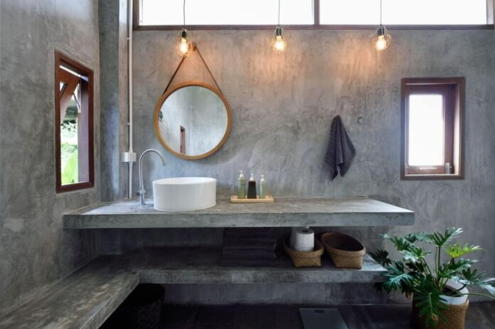 Bathroom Apron