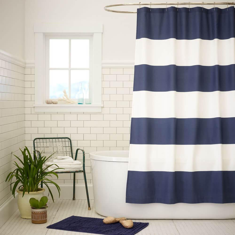 Hang a new curtain