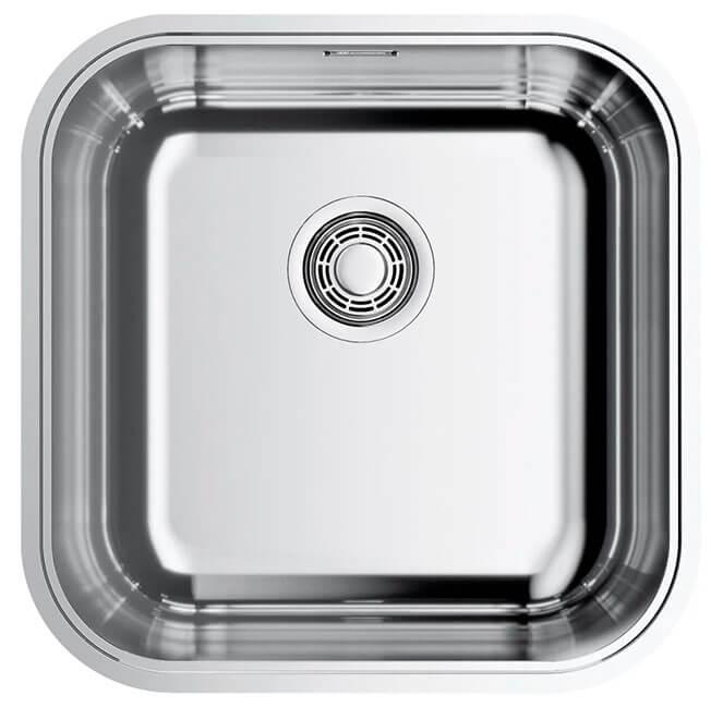 8. Integrated kitchen sink 44.5 cm OMOIKIRI Omi 44-U IF-IN Quadro