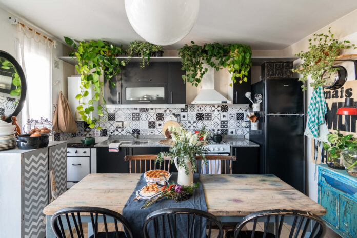Boho-chic Kitchen