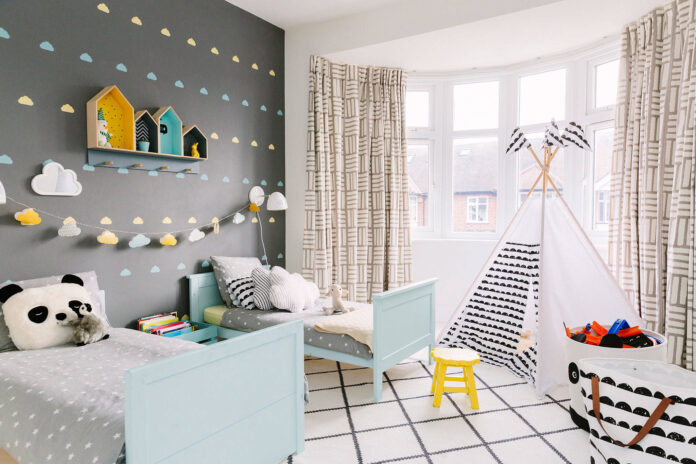 Comfy Room For Boy And Girl