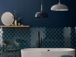 Husk-Shaped Mosaic Tile