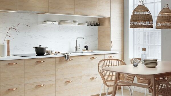 Kitchen Designs With Wooden Fronts