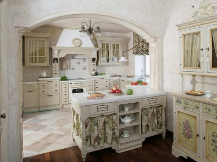 Interior Design In The Italian Style: Kitchen Features