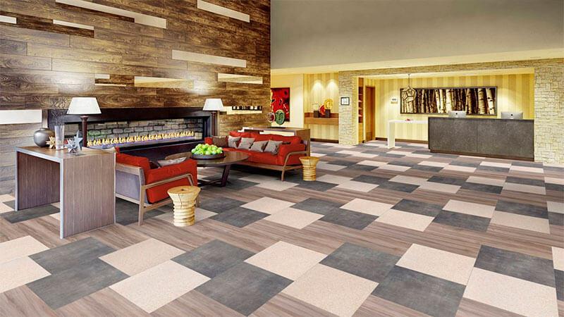 What is quartz vinyl tile
