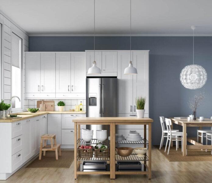 Beige Tone Kitchen